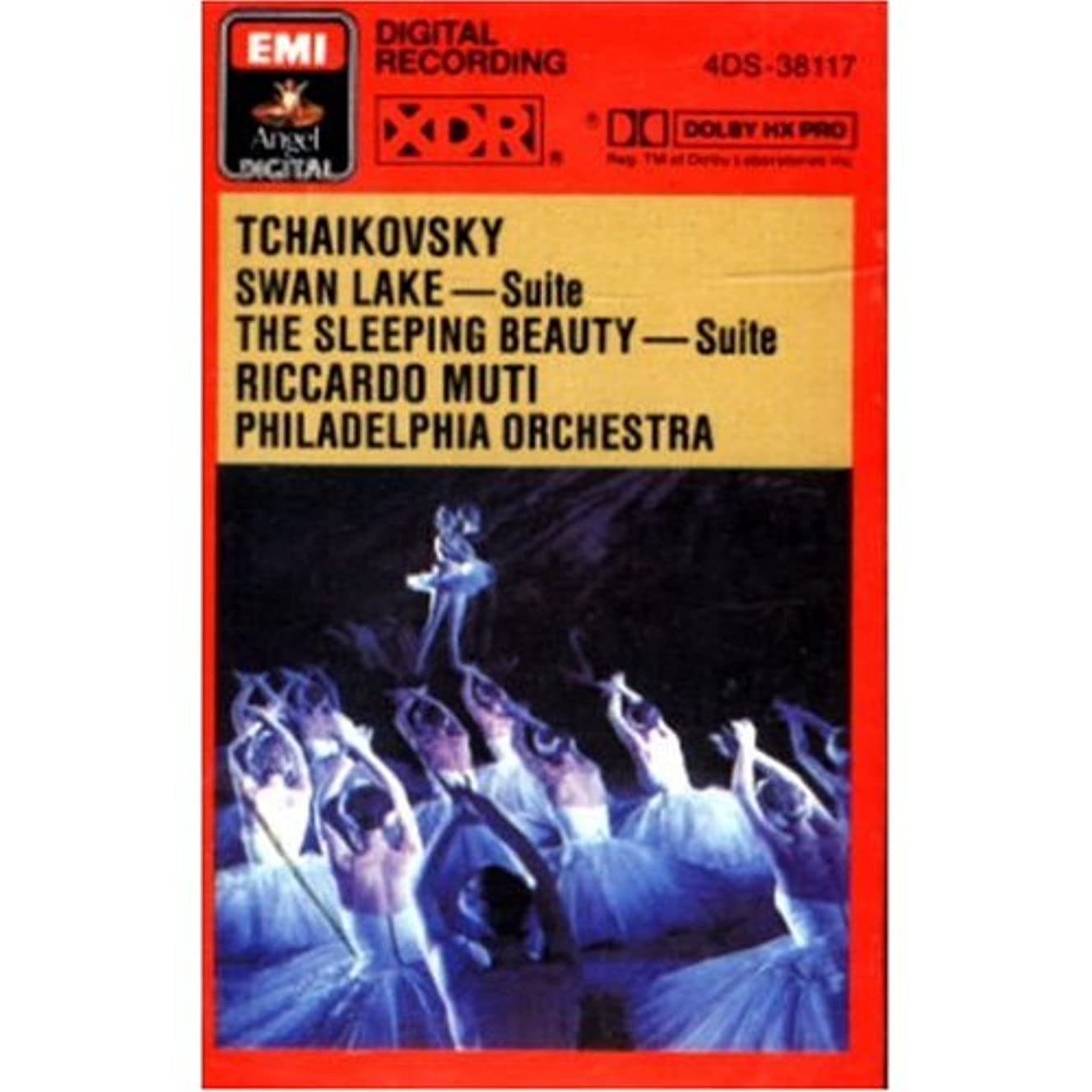 Tchaikovsky: Swan Lake & Sleeping Beauty Suites / Riccardo Muti Conducting The Philadelphia Orchestra [Audio Cassette]