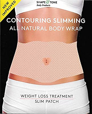 Contouring Slimming All Natural Ultimate Body Wrap 5 wraps