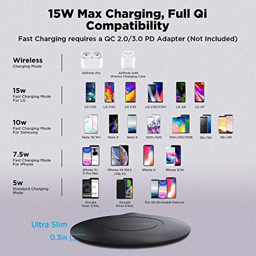 Make Note4 be Universal Wireless Charged by Qi Charger Anywhere Like Starbucks Compatible with Samsung Galaxy Note 4 Qi Receiver LANIAKEA Built-in Qi Wireless Charging Receiver