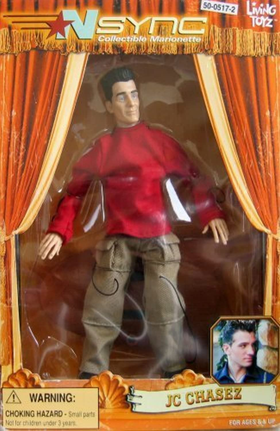 NSync Collectible Marionette  JC Chasez by Living Toyz