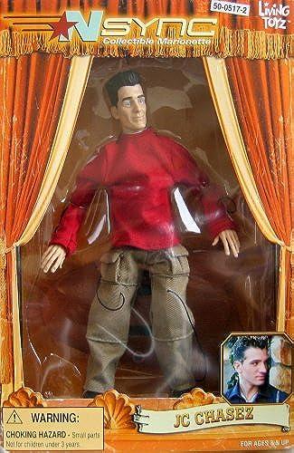 buena reputación 'NSync Collectible Marionette - JC Chasez by by by Living Toyz  promociones emocionantes
