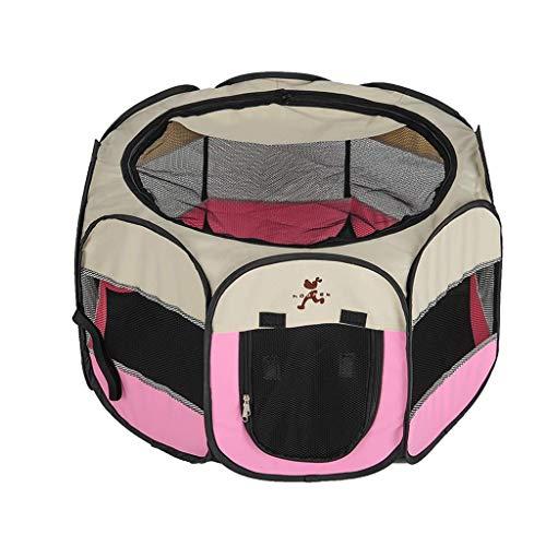 JYTBD YUN TAO Cat leveringskamer kattentent kattenbak benodigdheden outdoor kattenhuis, roze, rolgordijn ontwerp, twee maten (maat: S)
