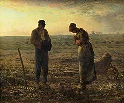 ミレー作,晩鐘,1858-59年