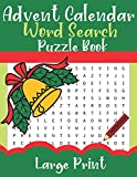 Advent Calendar Word Search Puzzle Book Large Print: Puzzler Squad s Christmas Advent Calendar, 24 Days of Puzzles, Mark Off the Days Until Christmas with this Holiday Word Find Book