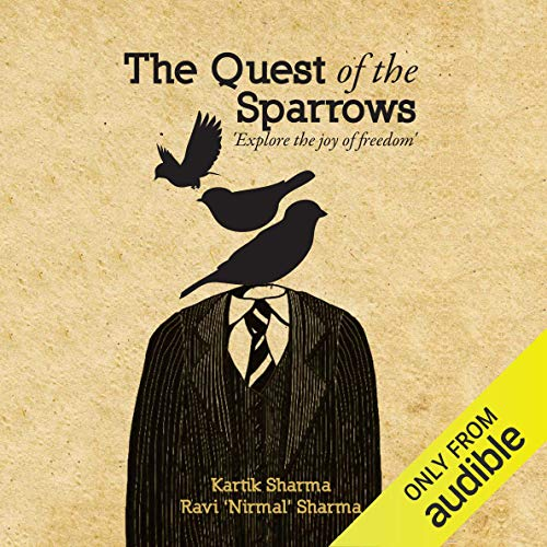 The Quest of the Sparrows audiobook cover art