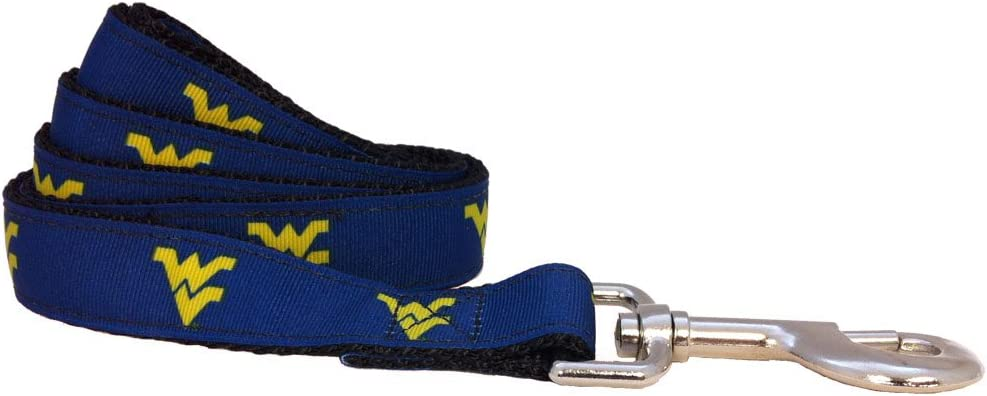 NCAA Los Angeles Mall West Virginia Mountaineers Dog Purchase Team Large Color Leash