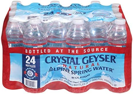 Crystal Geyser Water Spring 16 9 Ounce 24 Pack product image