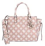 Guess Digital Status Satchel Rose
