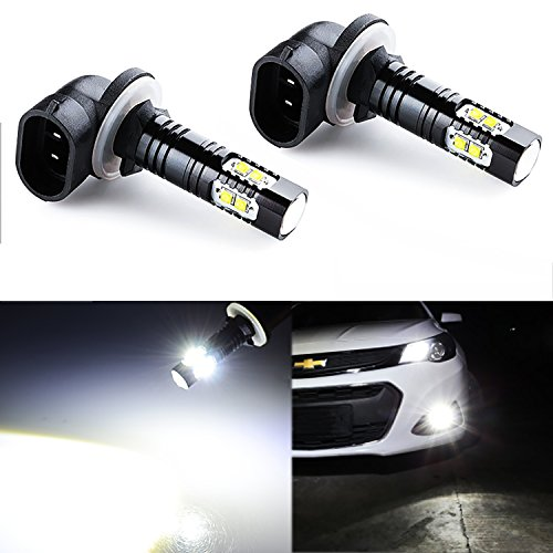 JDM ASTAR Bright White Max 50W High Power 881 LED Fog Light Bulbs