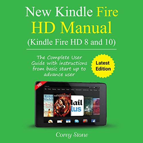 kindle fire hd manual audiobook corey stone audible ca rh audible ca user manual for kindle fire hd 8 kindle fire hd 8 user manual