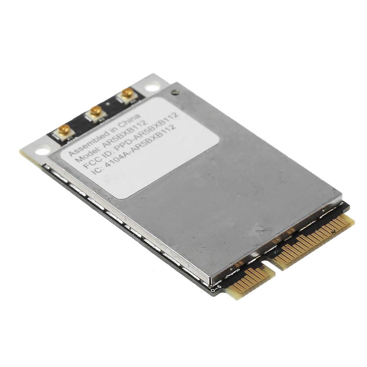後方ニッケル創造Someting2 AR5BXB112 AR9380 450Mbps Dual Band Mini PCI-E Wireless Wifi Card Adapter for 802.11a / B/G/N Wlan S/N C86214300RHCCV4ABアクセサリー