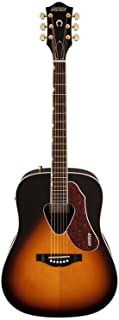 Best Gretsch Guitars G5024E Rancher Dreadnought Acoustic-Electric Guitar Sunburst Review