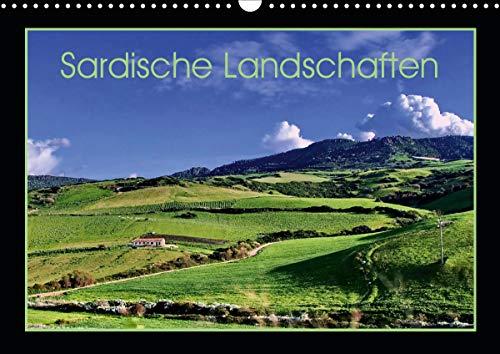 Sardische Landschaften (Wandkalender 2021 DIN A3 quer)
