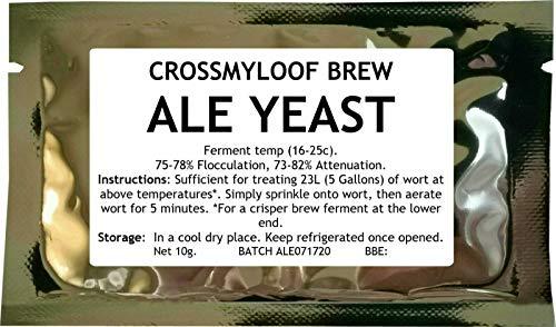 Lievito di birra, per birra fatta in casa, US Pale Ale Yeast, stile americano -, 10g