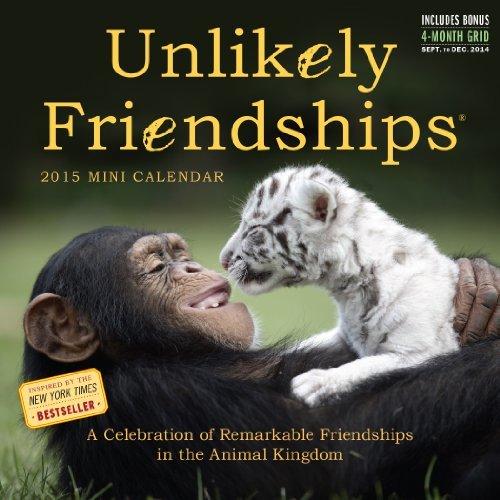 Unlikely Friendships 2015 Mini Calendar: Written by Workman Publishing, 2014 Edition, Publisher: Workman Publishing Company [Calendar]
