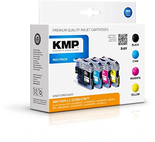 KMP Multipack für Brother DCP-J4120DW / MFC-J4420DW , B48V