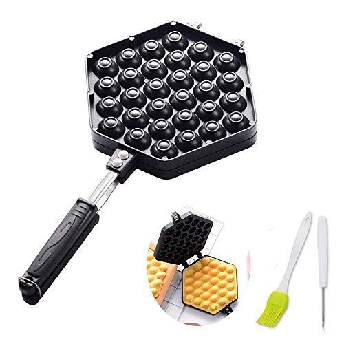 YFGQBCP Sándwich de máquina de múltiples Funciones Desayuno luz de la máquina, a Doble Cara Calefacción Pequeño Timing Waffle Machine