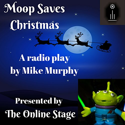 Moop Saves Christmas audiobook cover art