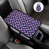 AFUNTA - Cuscino per console centrale e portachiavi, universale, morbido e confortevole, compatibile con la maggior parte delle auto, accessori per auto