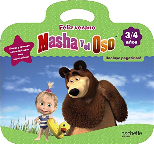 Feliz verano con Masha y el Oso 3-4 años (Hachette INFANTIL - MASHA Y EL OSO - Vacaciones)