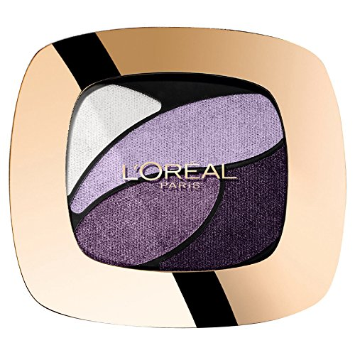L'Oréal Paris Color Riche Quad Palette Ombretti, E7 Unforgettable Lilac