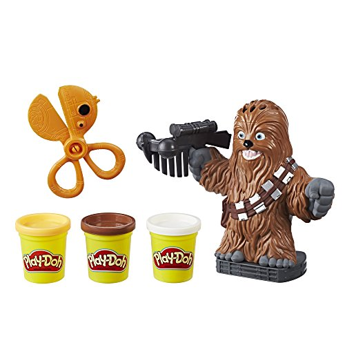 Play-Doh Star Wars Chewbacca, 2 oz. Cans of 3 Non-Toxic Play-Doh Colors