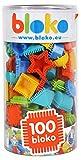 Bloko Bloko503503 - Blocchetti per denti da costruzione, 100 pezzi, multicolore