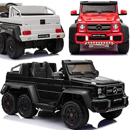 Elektrisches Kinderauto Elektroauto für Kinder Mercedes Benz G63 6x6 XXL - LIZENSIERT - 6x45W Motoren,...