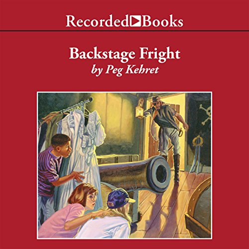 Backstage Fright audiobook cover art