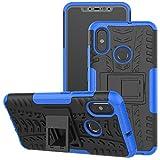 Jhxtech Xiaomi Mi 8 Case, [Kickstand] [Heavy Duty