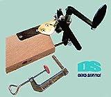 Staufen Krepp-Wickelmaschine für Handbetrieb, robuste Profi-Ausführung, Lieferung Frei Haus