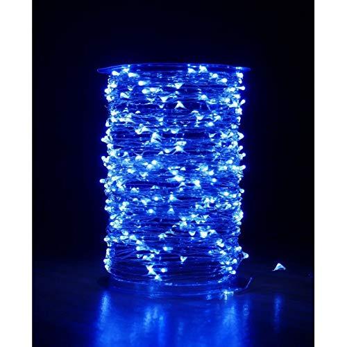 Guirlande cascade intérieur 200 LED - 150 cm - Blanc Froid