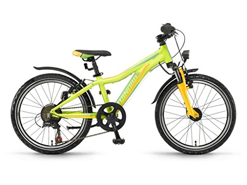 Winora Rage 20 Kinder Mountain Bike 2018 (27 cm, Lime/Grün/Orange)