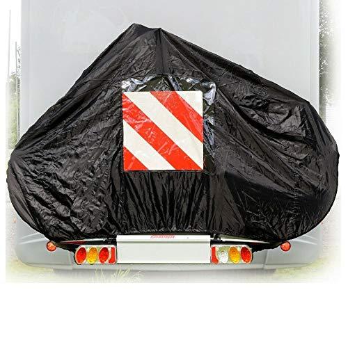 P4B Schutzhülle für 2 Fahrräder Wohnmobil Auto Heckträger schwarz Fahrradhülle Fahrrad Hülle Schutz Transport 145 x 74 x 123 cm