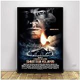LIUXR Poster Shutter Island Film Leonardo Dicaprio