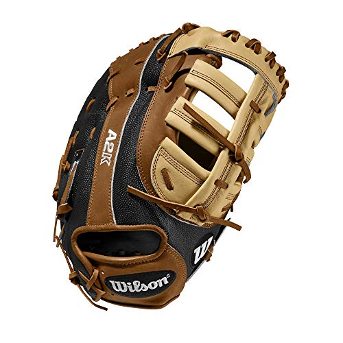 Wilson A2K 2820SS 12.25' Baseball First Baseman Mitt - Left Hand Throw