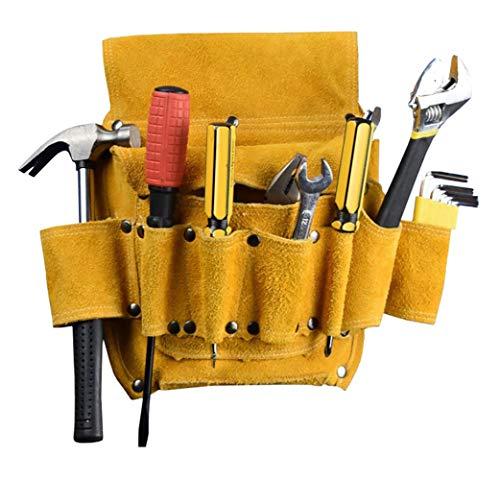 Bolsa herramientas Organizadores cuero pouch tool bag Electricista carpintero