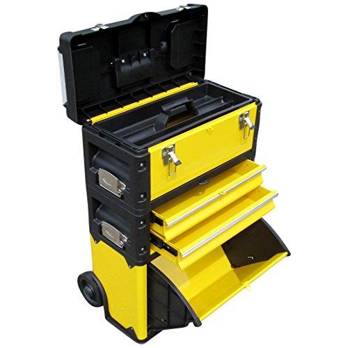 ASS Metall Werkzeugtrolley Werkstattwagen XL Type: B305ABD -> jetzt neu mit Schubladenverriegelung und Schloss