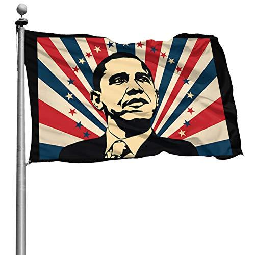 President Barack Hussein Obama 4X6 Ft USA Flag Foot Banner Flags Garden Flag Home House Flags US Outdoor Flag