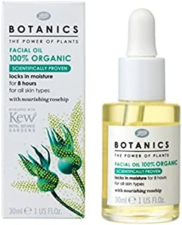 Boots Botanics Facial Oil 100% Organic 25 Ml. by Boots