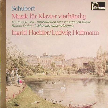 Franz Schubert - Ingrid Haebler, Ludwig Hoffmann - Musik Für Klavier Vierhändig - Fontana - 6530 063