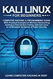 Kali Linux for Beginners: Computer Hacking & Programming Guide with Practical Examples of Wireless Networking Hacking & Penetration Testing ... to Understand The Basics of Cyber Security