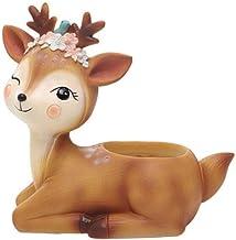 Cartoon Succulent Potted Cute Animal Shaped Desktop Planter for Home Decoration Christmas Gift 1pcs (Color : A2)