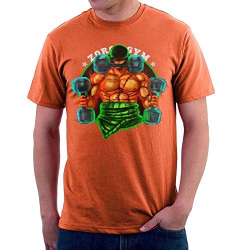 Cloud City 7 Zoro's Gym One Pice Roronoa Pirate Hunter Men's T-Shirt