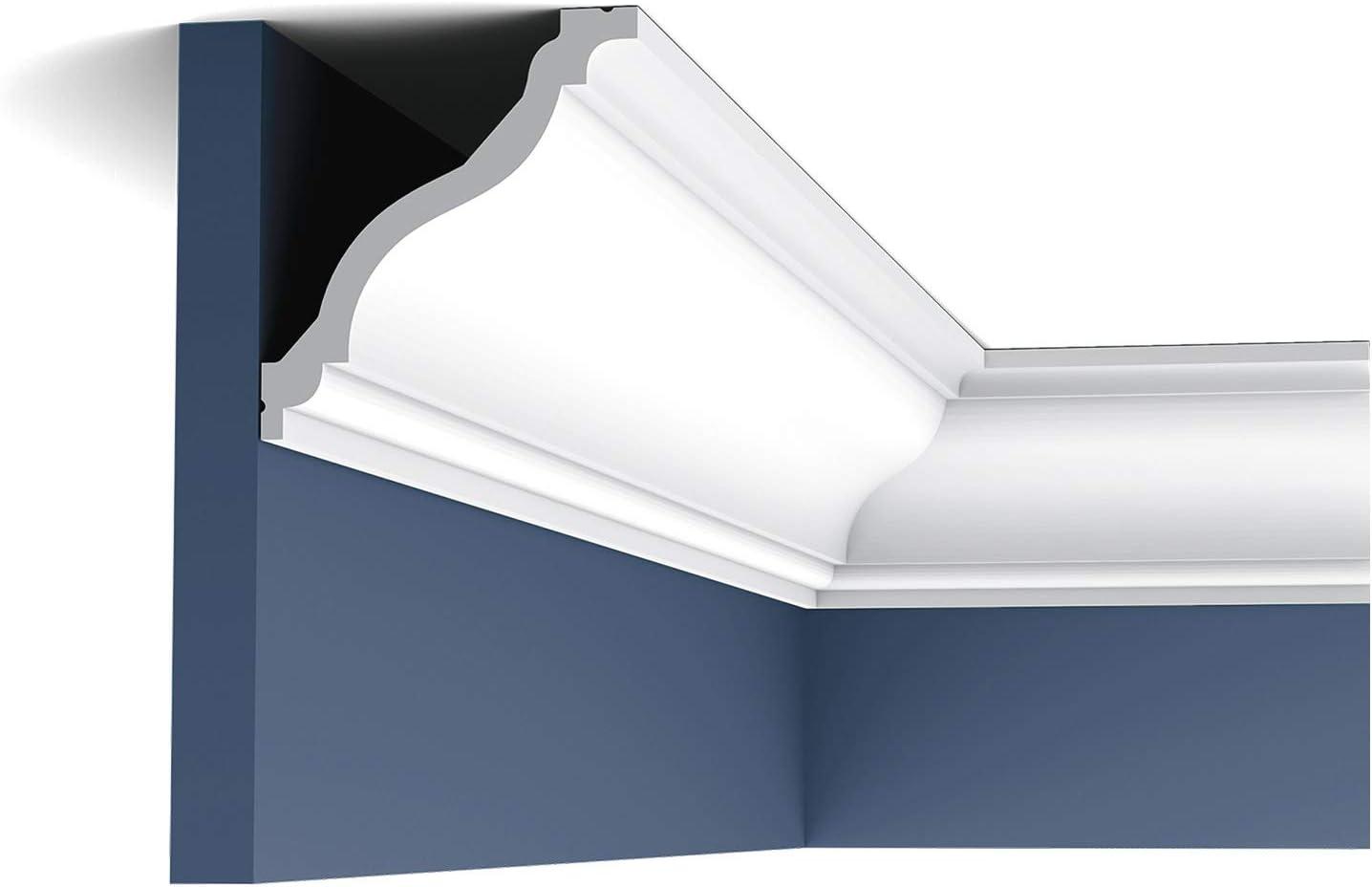 Orac Decor Flexible Polyurethane White NEW before selling Crown Primed Fresno Mall Moulding