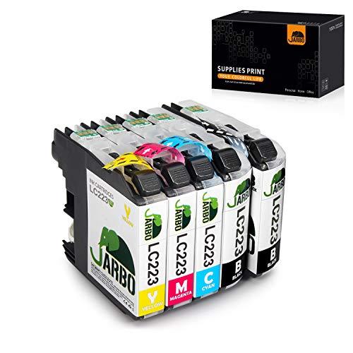 Jarbo High Capacity | Inktcartridge | Hoog rendement | Compatibel met Brother | Zwart en drie kleuren inkt