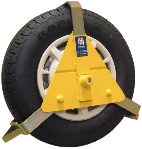 Price comparison product image Stronghold 5434B Wheel Clamp 10 x 14 -inch