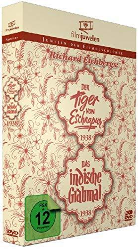 Richard Eichberg: Der Tiger von Eschnapur (1938) / Das indische Grabmal (1938) (Filmjuwelen) [2 DVDs]