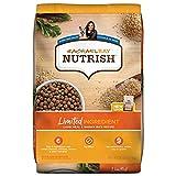 Rachael Ray Nutrish Limited Ingredient Lamb Meal & Brown Rice Recipe, Dry Dog Food, 28 lb Bag