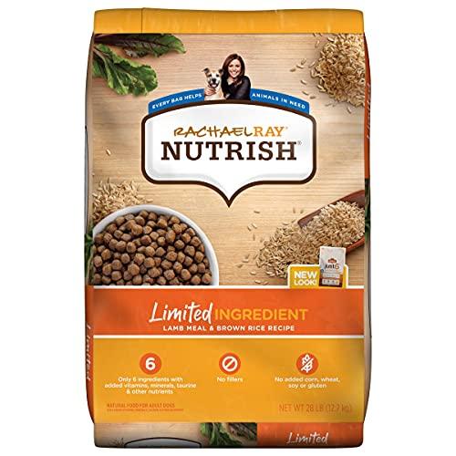 Rachael Ray Nutrish Limited Ingredient Diet Lamb Meal & Brown...